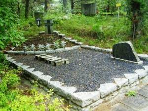 Paekivist hauapiirded (nurgad) / Бутовый камень (треугольный)